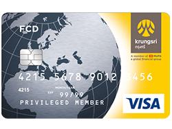 Krungsri Debit FCD Card