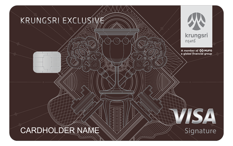 KRUNGSRI EXCLUSIVE Signature Credit Card