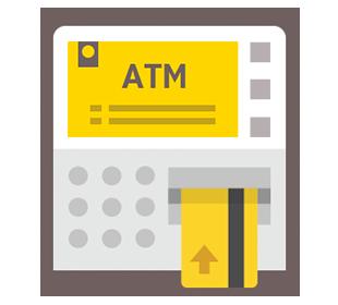 สมัครผ่านเครื่อง กรุงศรี ATM