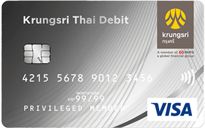 Krungsri Thai Debit Card