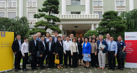 Krungsri-MUFG brings Thai corporate customers to visit wealth and wellbeing business in Japan