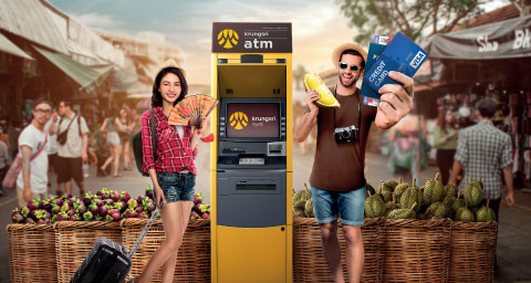 Get free privileges with cash withdrawals at Krungsri ATMs