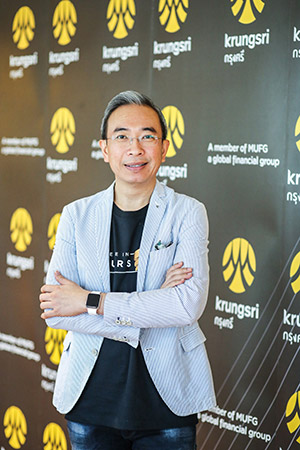 Mr. Thakorn Piyapan, Krungsri Head of Krungsri Consumer Group and Head of Digital Banking and Innovation Division