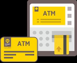 สมัครบริการที่ เครื่องกรุงศรี ATM