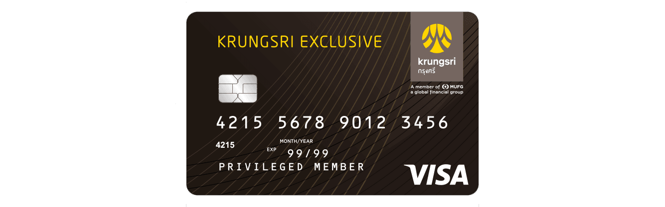 KRUNGSRI EXCLUSIVE Signature Debit Card