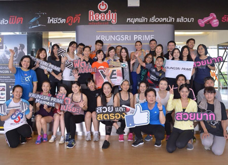 Get Fit and Firm with 'KRUNGSRI PRIME' and Yo Yossawadee