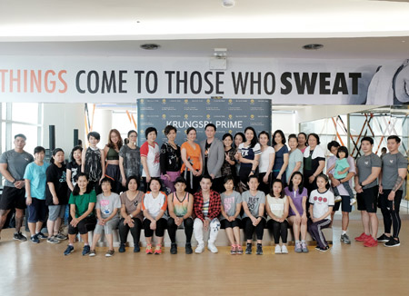 'KRUNGSRI PRIME' Healthy Life Happy Life  With Zumba Dance