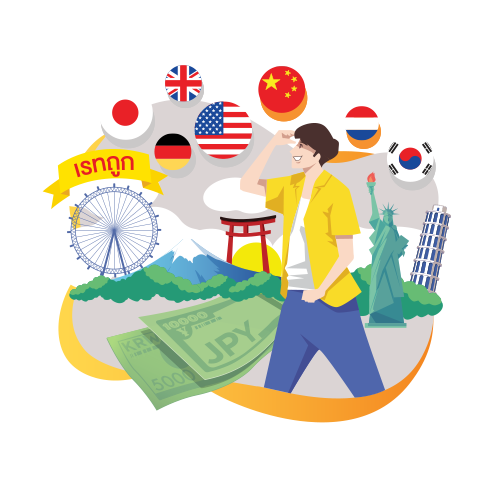 Exchange foreign currencies at cheap rates